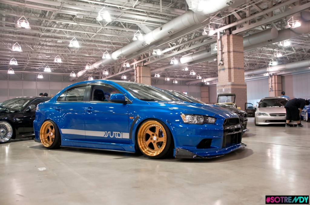 Mark and his Evo reppin both XclusivAlliance and Jsutai