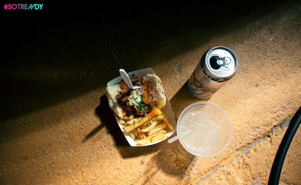 Pork Sliders & Vodka Lemonade