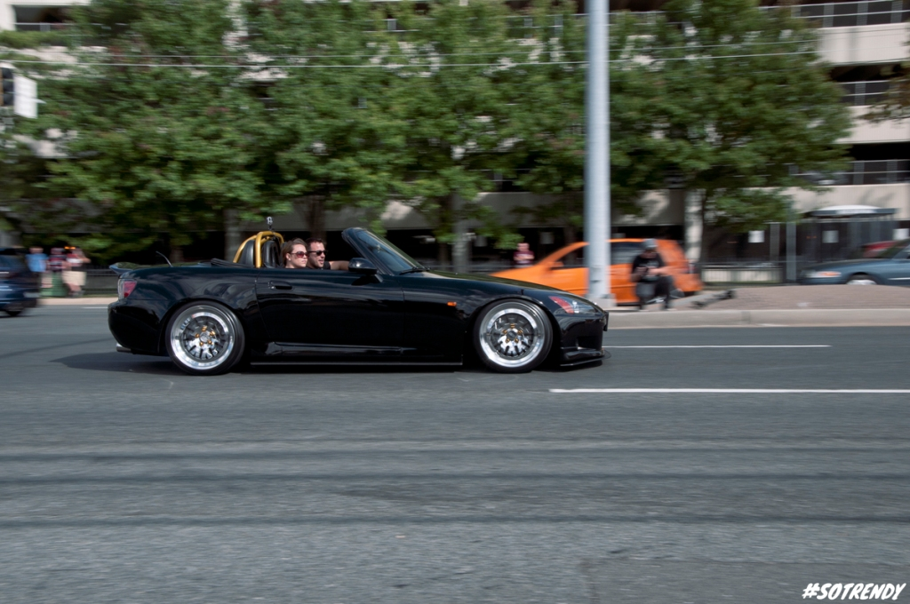 Black AP1 sporting what looks to be CCW wheels