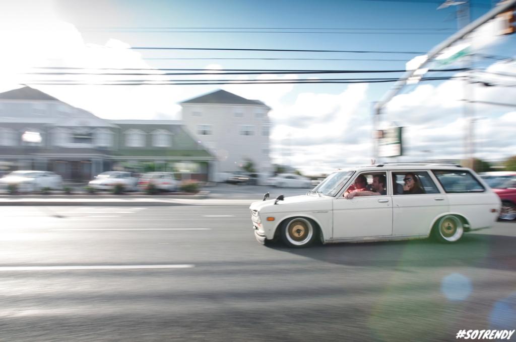 Datsun wagon!