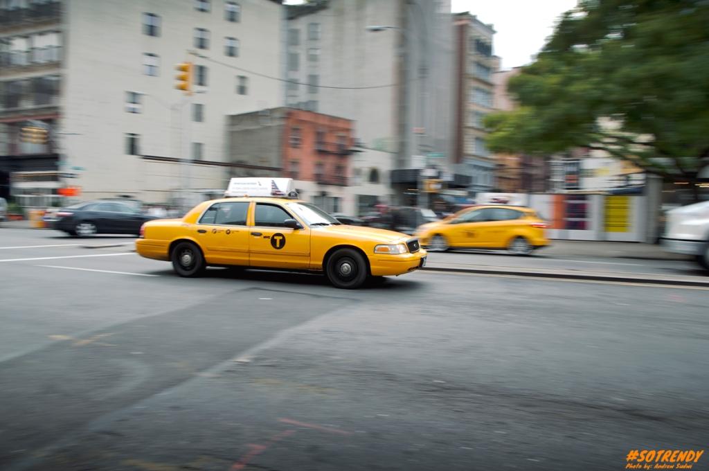 What's a NY trip if you didn't get a shot of the iconic yellow cab
