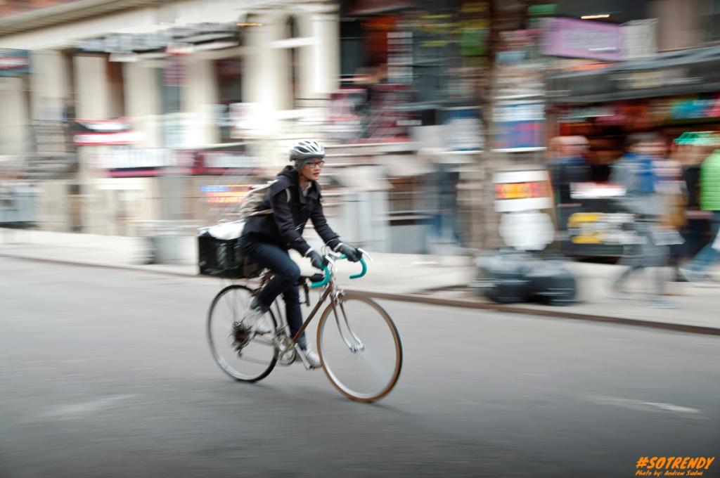 The many fixie riders of NY